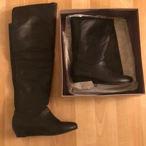 Bakers Tall Take Black Boots- Size 7.5